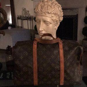 Auth vintage lv Louis Vuitton monogram bag